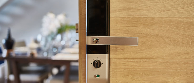 smart home access control lock